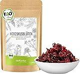 Hibiskusblüten BIO ganz und getrocknet 500g - Premium Hibiskus Tee - Hibiskusblütentee 100% natürlich aus biologischem Anbau - bioKontor